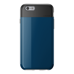 ETUI LUNATIK FLAK APPLE IPHONE 6 6S DARK BLUE