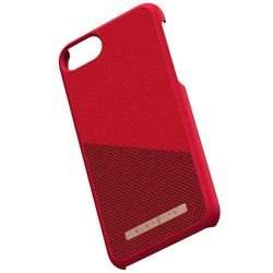 Nordic Elements Saeson Freja - Materiałowe etui iPhone 8 / 7 / 6s / 6 (Red)