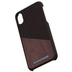 Nordic Elements Saeson Frejr - Drewniane etui iPhone Xs / X (Brown)