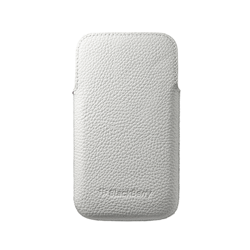 ORYGINALNE ETUI LEATHER POCKET BLACKBERRY Q20 CLASSIC WHITE