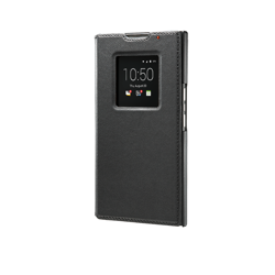 ORYGINALNE ETUI LEATHER SMART FLIP CASE BLACKBERRY PRIV BLACK
