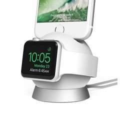 STACJA DOKUJĄCA iOTTIE OMNIBOLT CHARGING STAND DO APPLE iPHONE WHITE