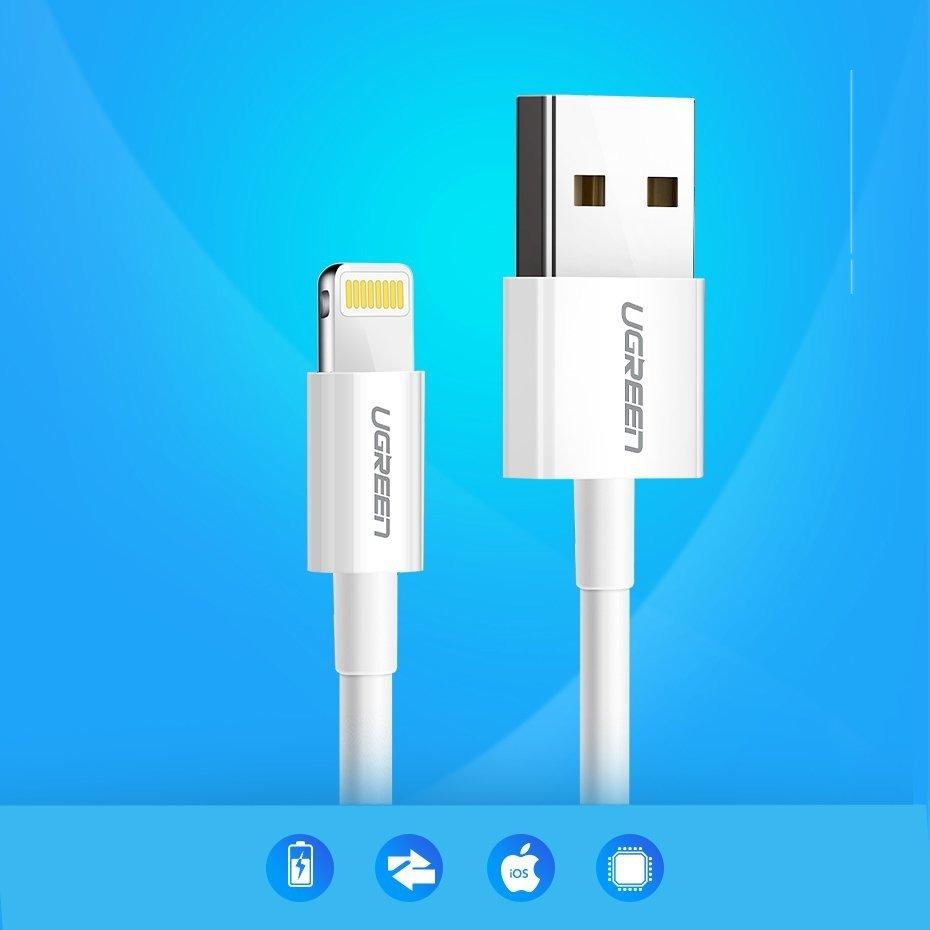 Kabel USB Lightning 2m przewód do ładowania jakość do iPhone
