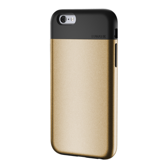 ETUI LUNATIK FLAK APPLE IPHONE 6 6S GOLD