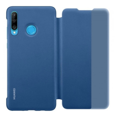 ETUI SMART VIEW COVER HUAWEI P30 LITE BLUE
