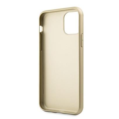 Guess GUHCN61G4GG iPhone 11 szarygrey hard case 4G