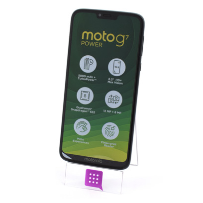 MOTOROLA XT1955 MOTO G7 POWER 64GB DUAL SIM BLACK