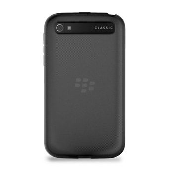 ORYGINALNE ETUI SOFT SHELL BLACKBERRY Q20 CLASSIC BLACK