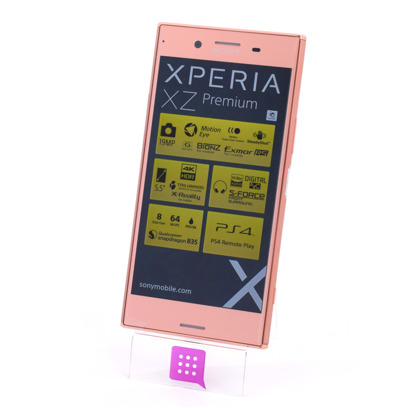 SONY G8141 XZ PREMIUM SINGLE SIM PINK
